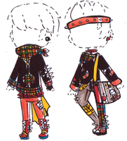 Male punk outfit adopts -CLOSED- by Guppie-Adopts