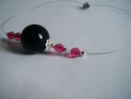 Bead Necklace by letmeusemyname
