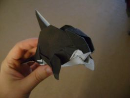 Origami Orca by FroggyDreams