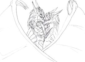 Young Love - Lineart by EdDarkflame