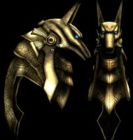 Anubis Mask by RR-DF-RaptorRed