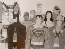Justice League by NightangelWorks