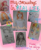 My drawings ~ Sketchbook and other by millymilk