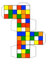 Rubix Cube Template by Barnman