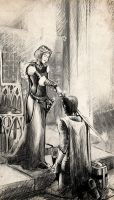 The Lady and her Knight by Meister-Goldfeder