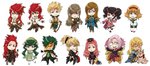 Tales of the Abyss Stickers by fir3h34rt