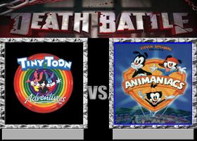 Death Battle - Tiny Toons vs Animaniacs by TXToonGuy1037