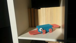 Perry the Inaction Figure by CupCakeHug