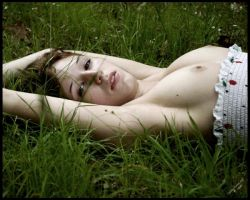 in the grass by Zofia-Florence