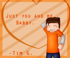 /For The Fangirls - Tim G [Speed paint] by Timmingt0n