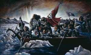 Klingons Crossing the Delaware by judgefang
