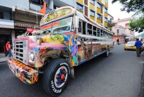Panama City Diablo Bus 2 by Mjag