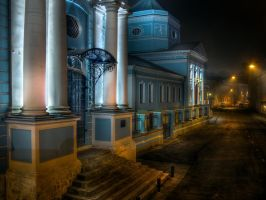 Trinity temple in Moscow by ChaoticMind75