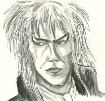 Jareth Practice in Ink by silvermoon822