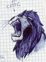 lion in my mathe book by timacs