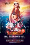 Rooftop Lounge Flyer by styleWish