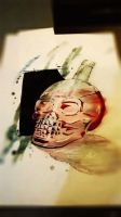 Skull Bottle by Dezao92