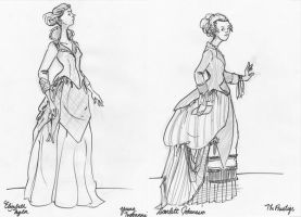 Older Fashion Drawings by lauren-moyer