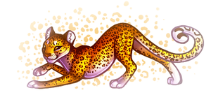 leopard thing by SheriBonBon