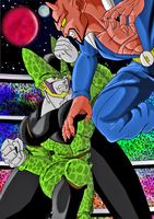 cell vs dabura dbm by ChibiDamZ