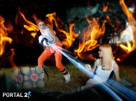 Portal 2 cosplay by artbetep