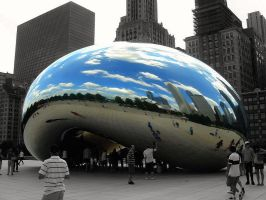 Cloud Gate 2.0 by LaLiLuLeLooo