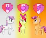 Cutie Mark Crusaders by ZakremciajkaMala