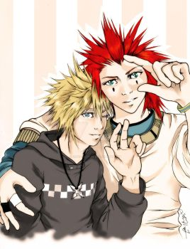 Axel + Roxas - 5000+ Thanks by cafe-lalonde