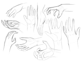Week One: Hands by Whitelupine