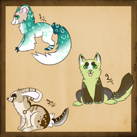 .:Auction Adoptables:. (Reduced Prices) by Eri-Freak