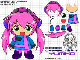 DigiBee FLASH Character 1 by NCH85