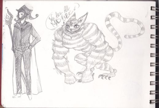 Cheshire cat maybe by magicalpie