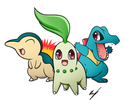 Starters second generation by FlaaffyShop