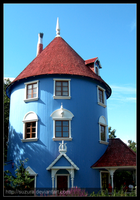 Moomin house by Cocodoo