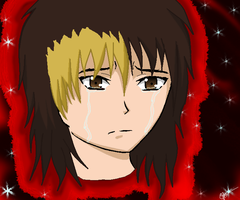 Anime crying by daushond