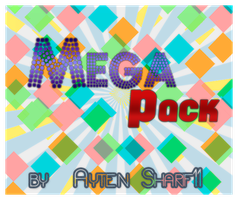 MEGA PACK by_AytenSharif11 by AytenSharif11