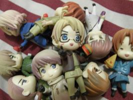 Hetalia: Figurines by iBallisticness