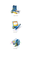 Web design services icons by alex-tanya