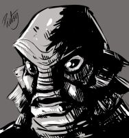 WSC - The Creature from the Black Lagoon by pictsy