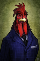 Mr. F. N. Roosterboo by daPatches