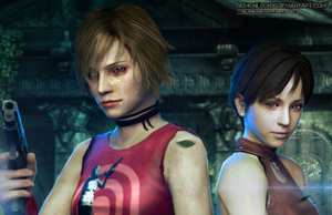 Girls- Survival horror by DemonLeon3D (ID version) by Ygure