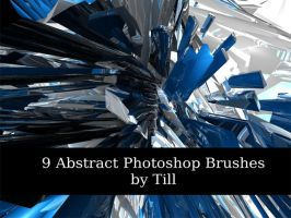 3D Abstarct Brushes by Tillhaug