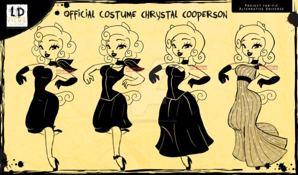 Offcial costume Chrystal cooperson in LD films by eliana55226838
