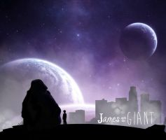james and the giant by xKIBAx