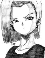 Android 18 by Jrock13Anime