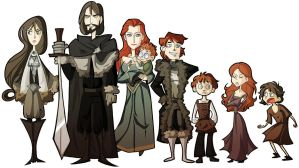 asoiaf - stark by spoonybards