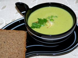 fennel and peas soup by himitsuHAKAI