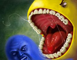 Pacman by poopbear