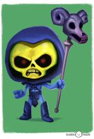 Bubblehead: Skeletor by JeffVictor