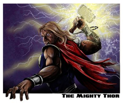 The Mighty Thor by jlonnett